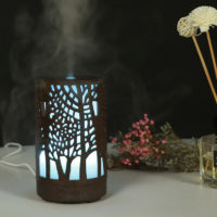 LED 7 Color Ultrasonic Aroma Essential Oil Diffuser Air Mist Purifier Humidifier