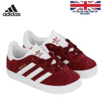 Boys adidas Originals Infants juniors Gazelles trainers girls CQ2925