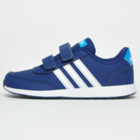 Adidas VS Switch 2 CMF Kids Boys Casual Retro Trainers Navy