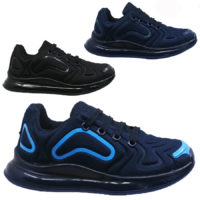 BOYS GIRLS SHOCK ABSORBING RUNNING TRAINERS CASUAL PE SCHOOL SPORTS SHOES SIZE