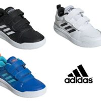 ADIDAS BOYS JUNIOR KIDS SHOES TENSAURUS HOOK LOOP STRAP TRAINERS SNEAKERS SPORTS