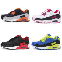 Kids Sports Shoes Air Running Trainers Shoes Boys Girls Shoes Gym Sneakers UK