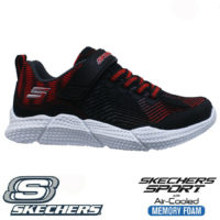 BOYS KIDS SKECHERS MEMORY FOAM TOUCH STRAP WALKING SPORTS TRAINERS SHOES SIZE
