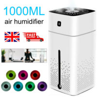 Humidifier Electric Air Diffuser Aroma Oil Night Light up Home Relaxing Defuser