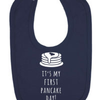 It's My First Pancake Day Newborn Toddler Baby Bib