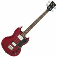 Vintage Vintage VS4 Reissued Bass Guitar - Cherry Red