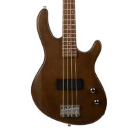 Cort Action Junior Electric Bass guitar, Open Pore Walnut (NEW)