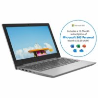 "Lenovo Westcoast IdeaPad Slim 1-11AST-05 11.6"" Laptop 4 GB RAM 64GB AMD A4"
