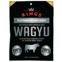 Kings Platinum Edition Wagyu Beef Jerky, 16 x 25g