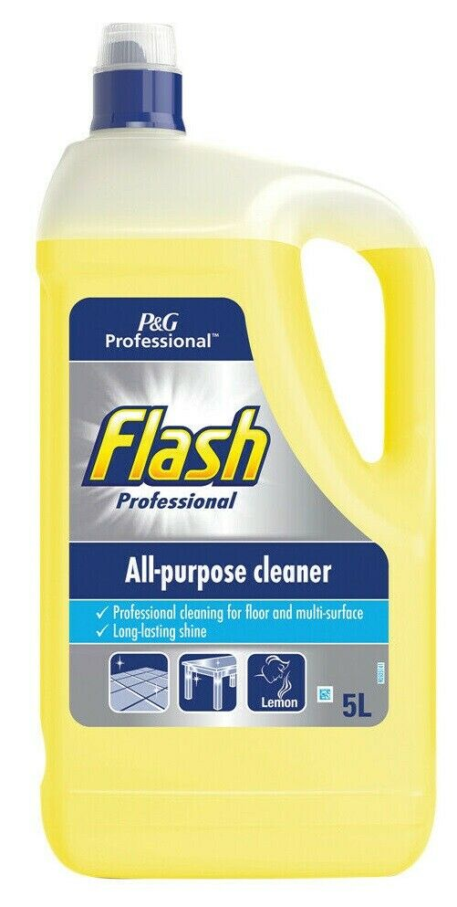 5L Flash Professional All Purpose Cleaner Floor Cleaning Crisp Lemon