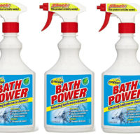 OZKLEEN BATH POWER BATHROOM CLEANER 3 x 500ML