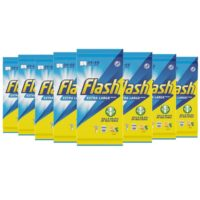 Flash Anti-Bac Lemon Wipes 24 X-Large / 48 Small (Pack of 8)