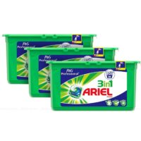 Ariel 3 in 1 Pods Fresh Bright Liquitabs Detergent Washing Capsule Pack 3 x 35