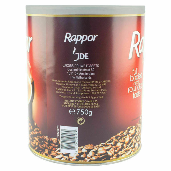 Original Kenco Rappor Instant Coffee Granules, 750g -Medium Roast-daily drinking