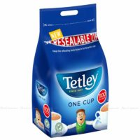 Tetley 1 One Cup Black Fresh Catering Size Sealed Pack of 1100 Tea Bags 2.5kg