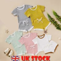 Newborn Baby Boys Girls Clothes Romper Jumpsuit Shorts Pants Toddler Outfits Set