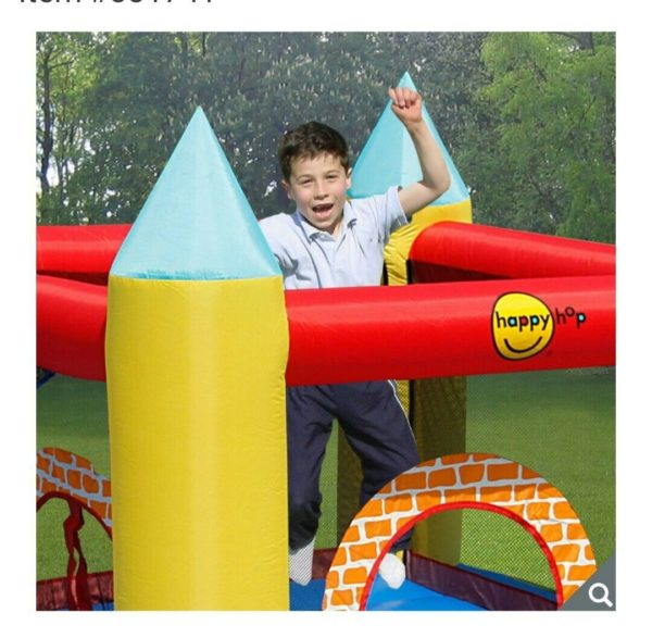 Happy Hop 4 in 1 Playcentre with Slide (3+ Years)