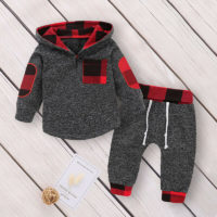 Baby Boys Newborn Hooded Tops T Shirt Long Pants Outfits Clothes Set Tracksuit