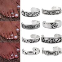 Toe Ring Antique Silver Foot Beach Jewellery 8 Style