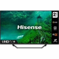 Hisense 55AE7400FTUK 55 Inch TV Smart 4K Ultra HD LED Freeview HD 3 HDMI Dolby