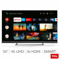 TCL 55EC788 55 Inch 4K Ultra HD Smart TV with sound by Onkyo - 5 YEAR WARRANTY