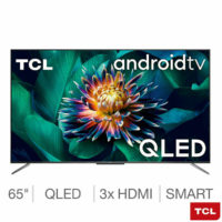 TCL 65 Inch QLED 4K Ultra HD Smart Android TV - 5 YEAR WARRANTY - LARGE TV