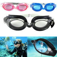 UV PROTECTED SWIMMING GOGGLES WATER RESISTANCE DIVING GLASS IN MULTI COLORS