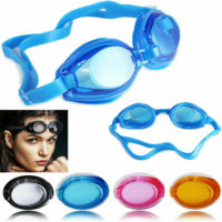 Anti Fog UV Swimming Goggles Junior Kids Men Women Adult Nose Ear Plugs Lens UK