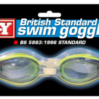 Childrens Swimming Goggles Googles Blue Childs Kids Unisex Boys Girls