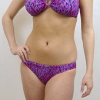 NEW LOOK BANDEAU BIKINI SET SWIMWEAR BRIEF TOP MIX N MATCH LEOPARD BEADS