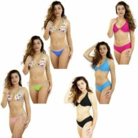 Women New Bikini Beach Summer Sexy Hot Bra Thong Set Padded Swimwear Bikini Set