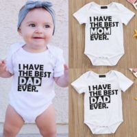 Newborn Baby Girl Boy Clothes Set Short Sleeve Romper Jumpsuit Indoors