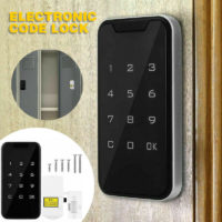 Electronic Digital Smart Password Keyless Door Lock Code Keypad Touch Screen UK
