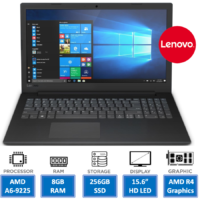 New Fast Lenovo 256GB SSD 8GB RAM, Windows 10 Laptop HD with Microsoft Office