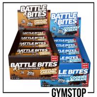 2 Boxes of Battle Oats Battle Bites 12x60g Protein Bar Free UK Tracked Delivery