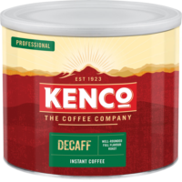 Kenco Decaff Instant Ground Coffee Tin Freeze Dried 500g