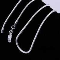 1.MM 925 SILVER SNAKE CHAIN NECKLACE UK SELLER ALL CHAIN SIZES £2.99 HUGE SALE