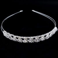Wedding Bridal Bridesmaid Flower Girl Crystal Tiara Headband Headpiece Jewellery