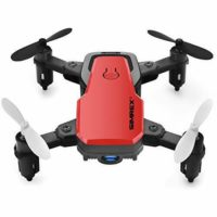 SIMREX X300C Mini Drone with Camera WIFI HD FPV Foldable RC Quadcopter EASY Fly