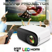 Mini Portable YG200 Projector HD 1080P LCD LED Home Theater Multimedia HDMI USB