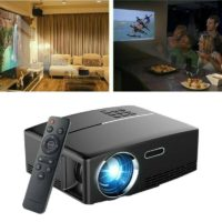 Portable 4K 1080P HD Home Projector LED Video Theater 3000Lumens USB VGA
