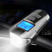 USB Rechargeable LED Mountain Bike Lights Bicycle Torch Front & Rear Lamp Set UK
