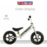 Kids Balance Bike Boys Girls Bicycle 12'' Running Training Children Toddler