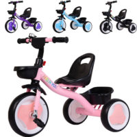 Baby Kids Trike Tricycle Boys & Girls 3 Wheels Toddlers Ride on Car Best Gift