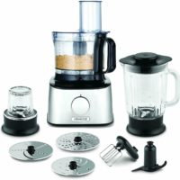 Kenwood FDM302SS Multipro Compact Food Processor, 800 W, Silver 2 in 1 Blender