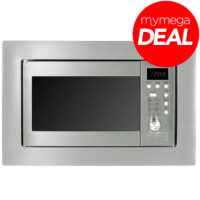 MyAppliances REF28604 Built In Integrated S/Steel Microwave & Grill with LED