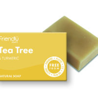 Friendly Soap Tea Tree & Tumeric Soap 95g