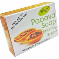haz papaya soap whitening system 100g