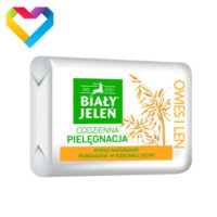 Bialy Jelen Natural Hypoallergenic Bar Soap With OATS Extract 100g