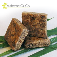 African Black Soap Bar Face Body Shea Butter For Acne Eczema Anti Ageing 90g UK